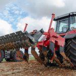tractor descompactador rodillo