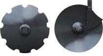 discos para gradas de disco suspendidas