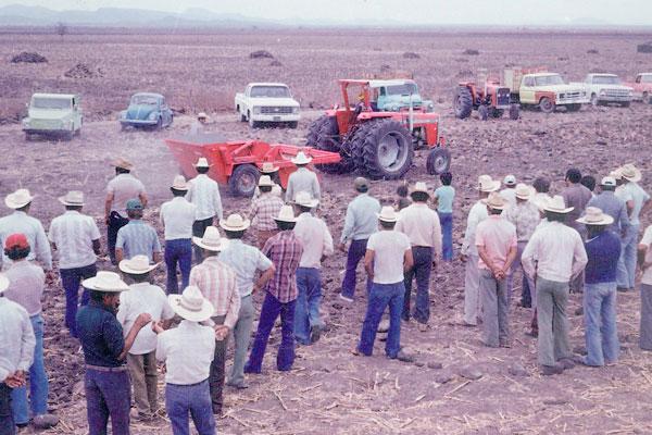 exportacion maquinaria agricola